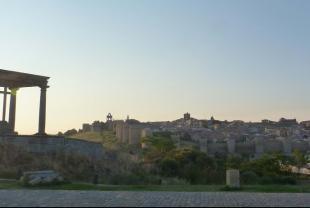 Cuatro Postes y panorámica de Ávila