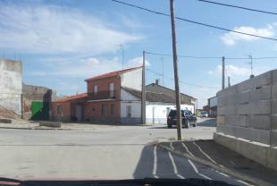 Hacia la calle sur para salir de Fontiveros